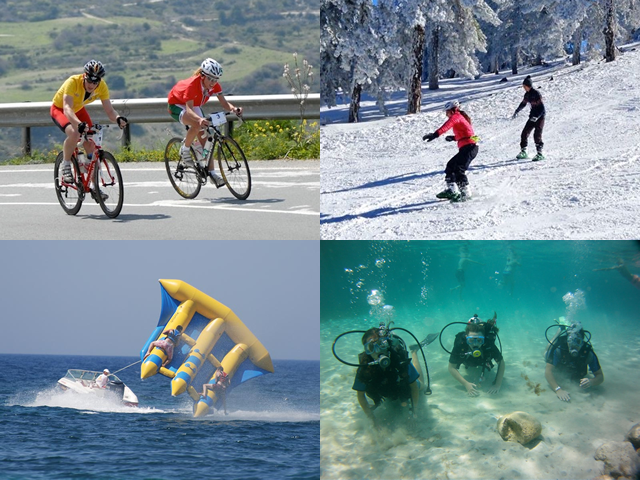 sports to do in cyprus