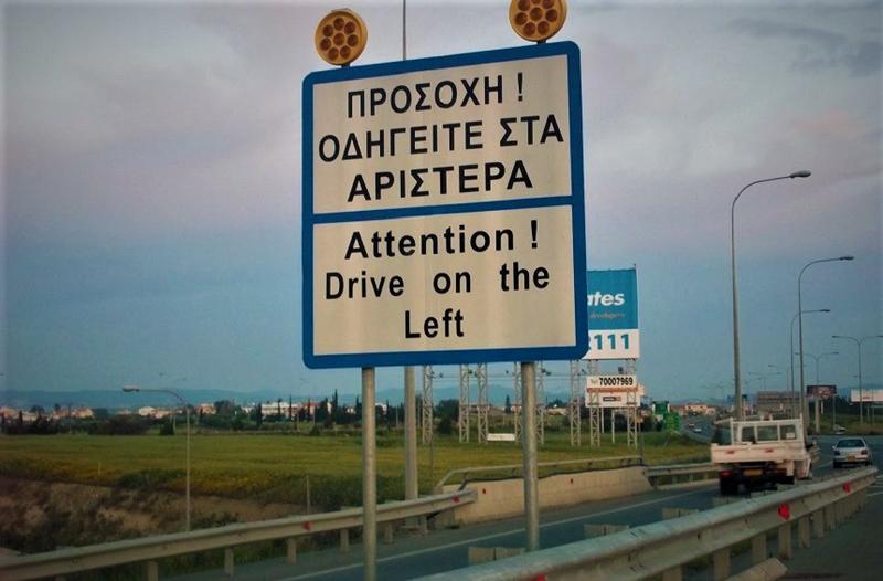 driving left side