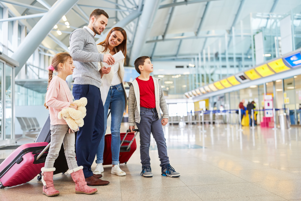 travelling abroad with children