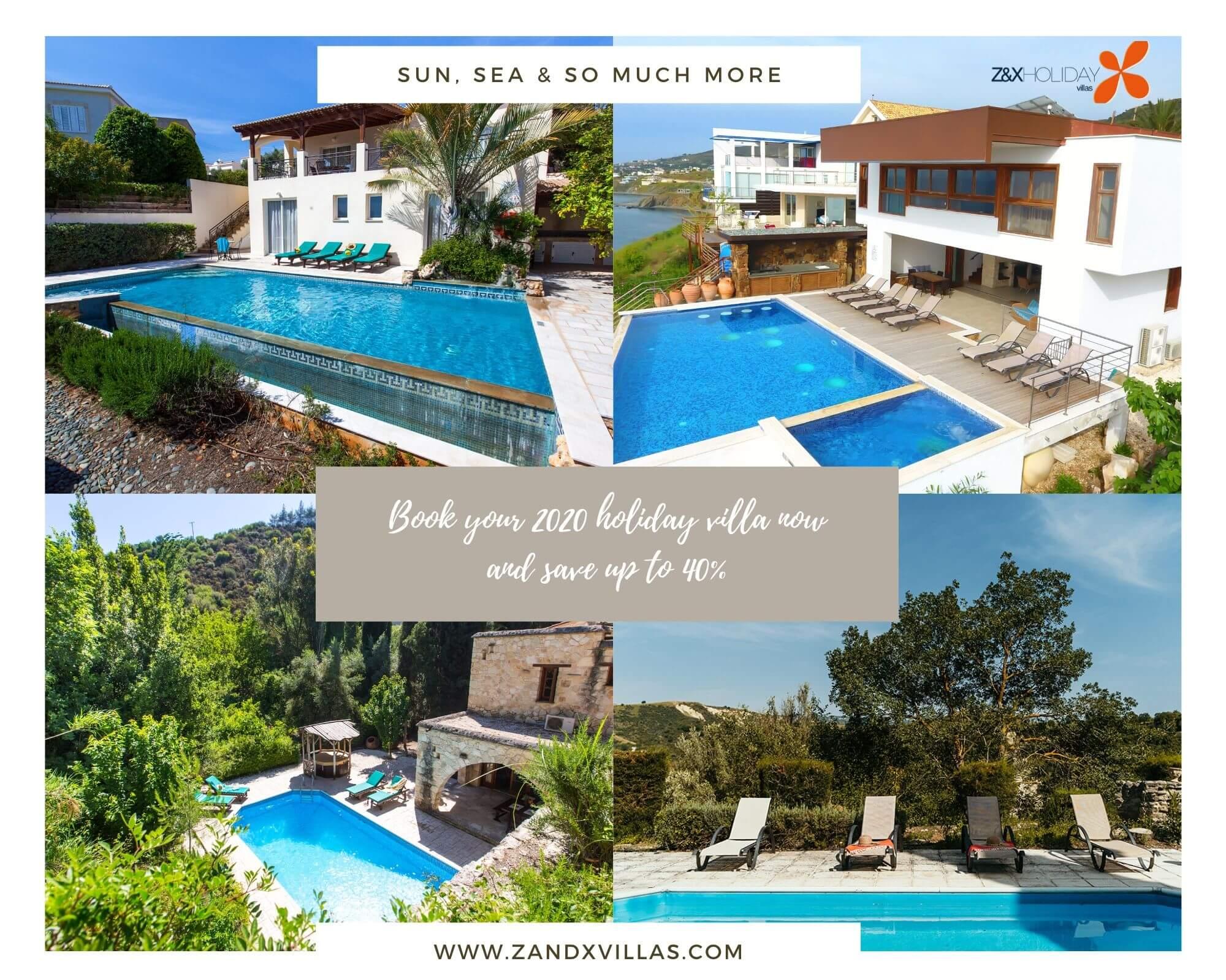 2020 Cyprus Holiday Villas