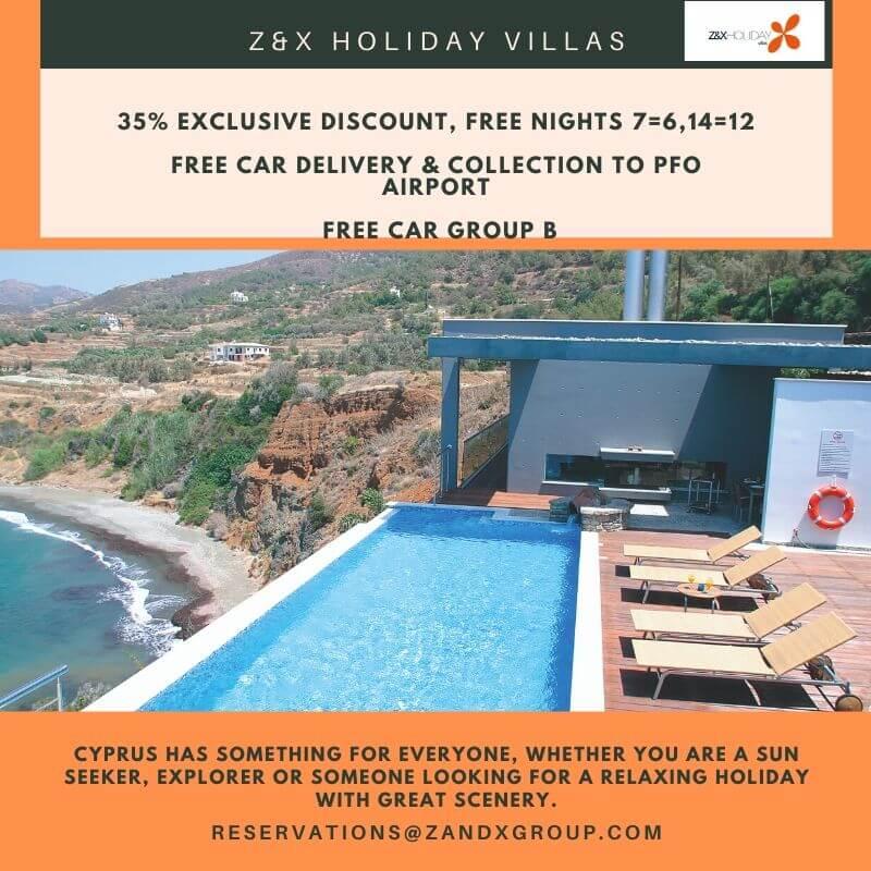 Villa holiday Cyprus